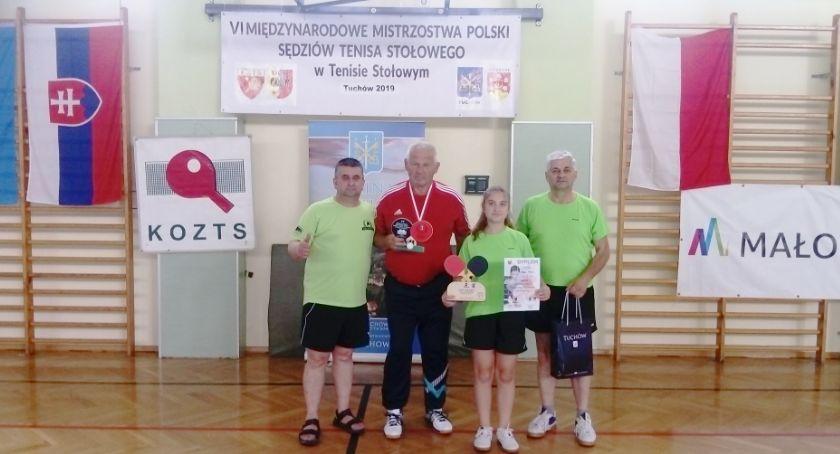 Tenis stołowy, Międzynarodowe Mistrzostwa Polski Sędziów Tenisa Stołowego - zdjęcie, fotografia