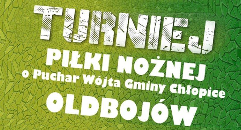 Piłka nożna, Turniej Piłki Nożnej Oldbojów Puchar Wójta Gminy Chłopice - zdjęcie, fotografia