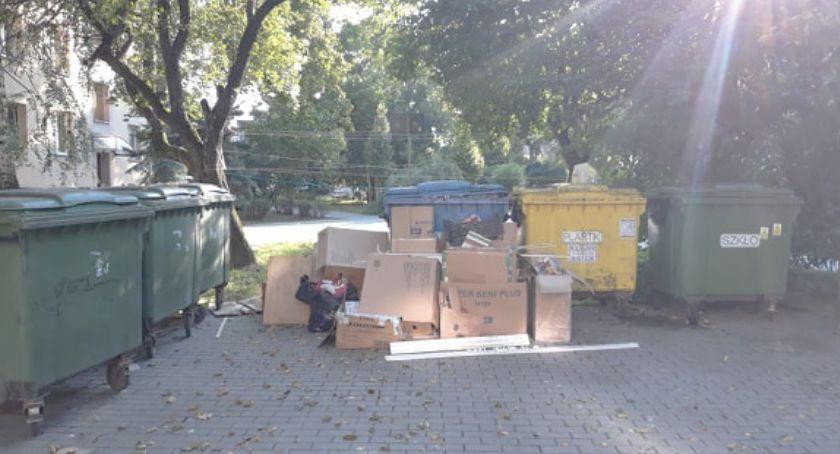 Zrobią remont, a śmieci podrzucają innym