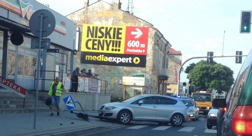 Utrudnienia na skrzyżowaniu ulic: Słowackiego i Pruchnickiej