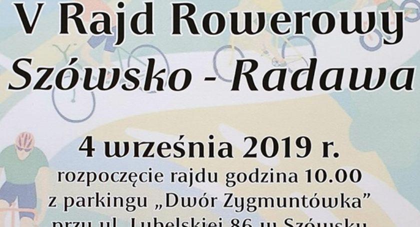 V Rajd Rowerowy Szówska do Radawy