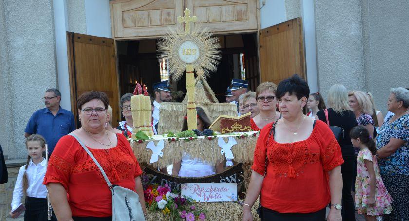 Imprezy, Dożynki gminne Wiązownicy - zdjęcie, fotografia