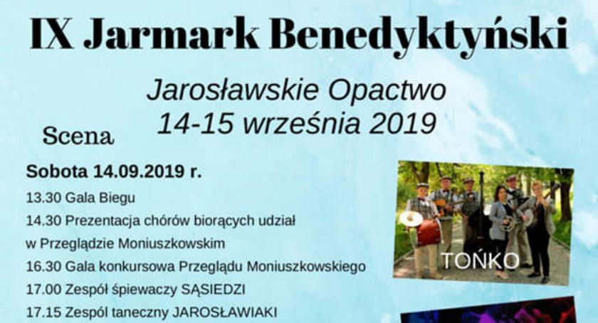 Wydarzenia, Jarmark Benedyktyński Opactwie Jarosławskim - zdjęcie, fotografia