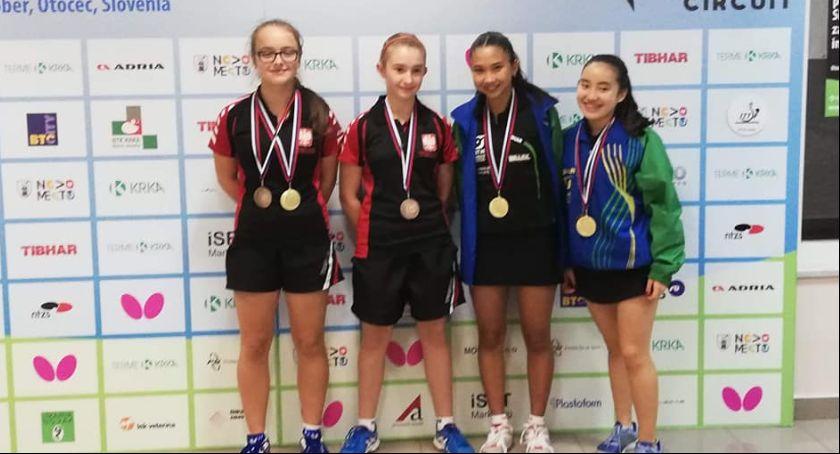 Tenis stołowy, Zdobycze medalowe młodzieży - zdjęcie, fotografia