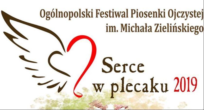 Wydarzenia, Ogólnopolski Festiwal Piosenki Ojczystej Michała Zielińskiego Serce Plecaku - zdjęcie, fotografia