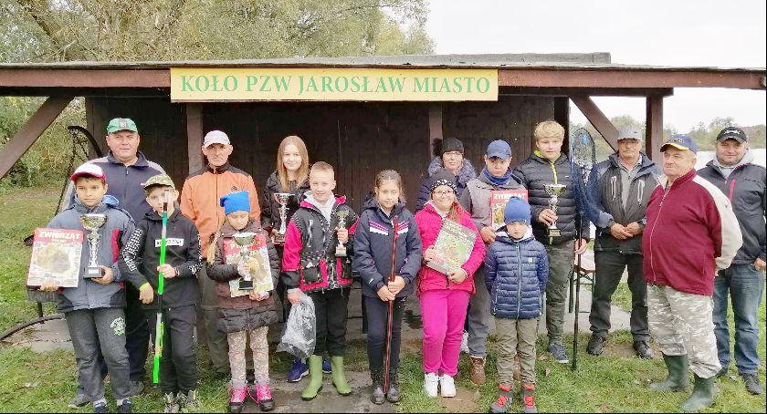 Wędkarstwo, Zawody młodzieży szkolnej puchary starosty dyrektora - zdjęcie, fotografia