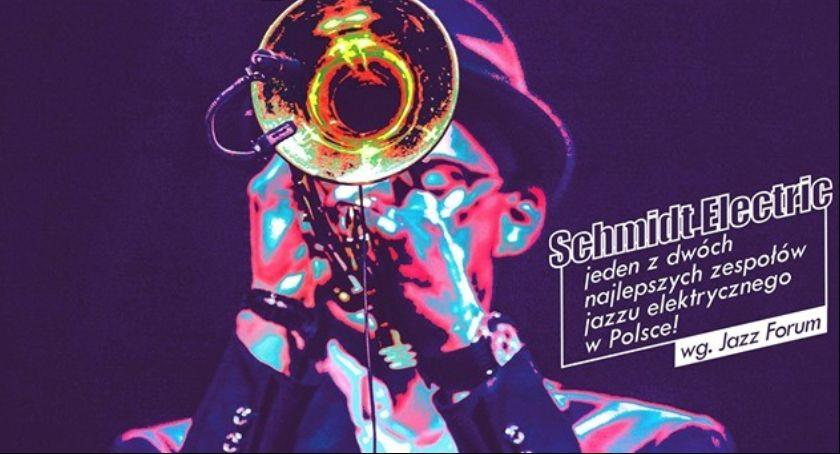 Wydarzenia, Koncert Schmidt Elestric memory Hargrove - zdjęcie, fotografia