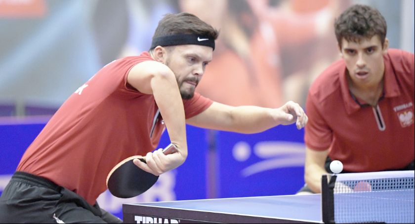Tenis stołowy, Daniel Górak brązowym medalistą Polish - zdjęcie, fotografia