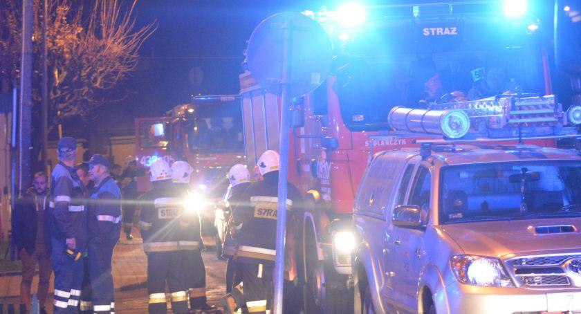 Pożar w awaryjniaku na ul. Przemyskiej w Jarosławiu