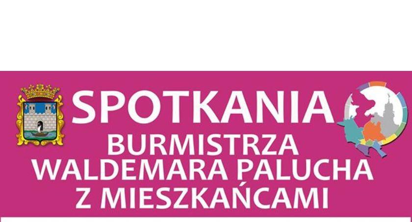 Wydarzenia, Spotkania Burmistrza Waldemara Palucha mieszkańcami Dzielnica - zdjęcie, fotografia