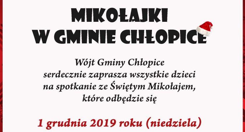 Wydarzenia, Mikołajki Gminie Chłopice - zdjęcie, fotografia