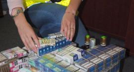 Obok hali targowej handlował nielegalnymi papierosami