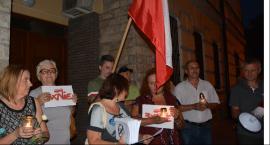 W sobotę wieczorem ponowny protest pod sądem