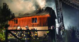 Pożar domu w Pawłosiowie
