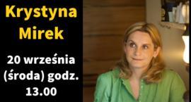 Spotkanie z pisarka Krystyną Mirek