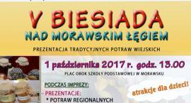 """V """"BIESIADA NAD MORAWSKIM ŁĘGIEM"""" – Prezentacja Tradycyjnych Potraw Wiejskich"""