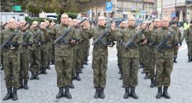 Przysięga wojskowa na jarosławskim Rynku