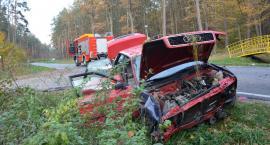 Wypadek w Łapajówce w gminie Wiązownica