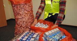 Policjanci ujawnili 1 200 paczek papierosów bez akcyzy