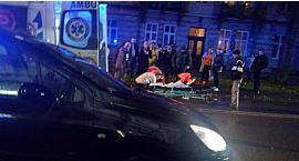Zmarła kobieta potrącona wczoraj na przejściu dla pieszych na ul. Kraszewskiego
