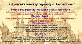II Konkurs wiedzy ogólnej o Jarosławiu