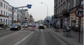 Potrącenie pieszej na ulicy Jana Pawła II