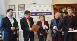 Konferencje prasowe: o budżecie i środkach na ul. Bandurskiego i Elektrownianą