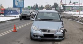 Trwa ustalanie okoliczności wypadku na ulicy Sanowej