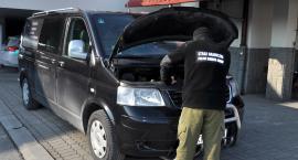 Volkswagen z przebitym numerem VIN