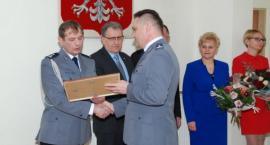 Mł. insp. Bogdan Folwarczny pożegnał się ze służbą