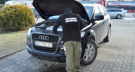 Audi Q7 poszukiwane przez Interpol zatrzymane w Korczowej