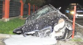 Tragiczne skutki wypadku w Pełkiniach
