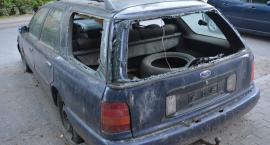Porzucone auto stanowi zagrożenie