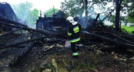 Od pioruna zapaliła się stodoła