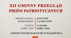 XII gminny przegląd pieśni patriotycznych