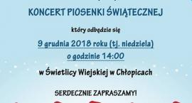 Koncert Piosenki Świątecznej w Chłopicach