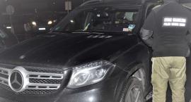 Mercedes o wartości 350 tys. zł zatrzymany na granicy