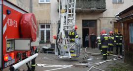 Pożar komina przy ul. Grodzkiej