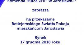 Betlejemskie Światło Pokoju Jarosławiu
