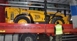 Skradziona koparka w Wielkiej Brytanii transportowana na Ukrainę