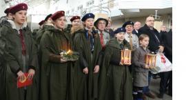 Betlejemskie światełko pokoju powędrowało na Ukrainę