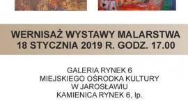 Wernisaż wystawy malarstwa Iwony Jankowskiej - Mihułowicz i Józefa Franczaka