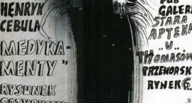 Rysunek satyryczny MEDYKAMENTY Henryk Cebula