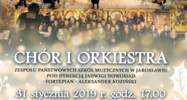 Koncert Noworoczny. Chór i Orkiestra ZPSM w Jarosławiu
