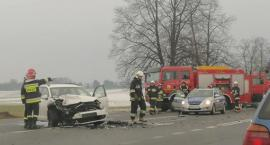 Znowu wypadek przy wjeździe na stację w Wierzbnej