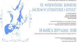 XX Wojewódzki Konkurs Sacrum w Literaturze i Sztuce