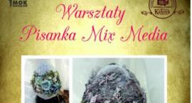 Warsztaty Pisanka Mix Media w Kuferku