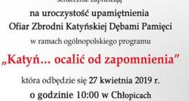 """""""Katyń… ocalić od zapomnienia"""" - Chłopice"""