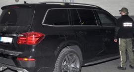 Kradziony w Rosji luksusowy mercedes zatrzymany na granicy