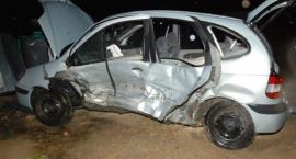 Wypadek na skrzyżowaniu w Wiązownicy
